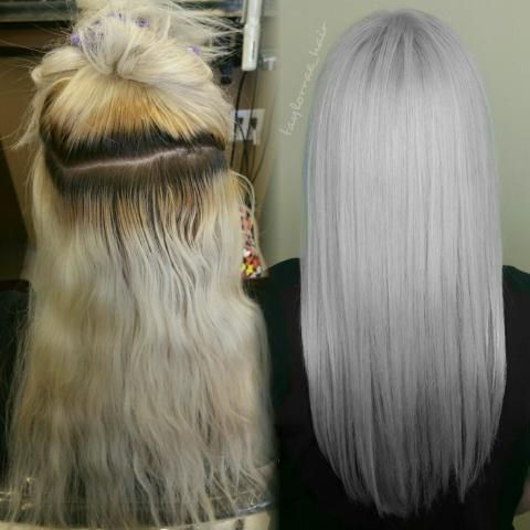 Ion Color Brilliance Icy White Hairstyle Inspirations 2018