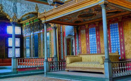 Sultan's Throne Topkapi