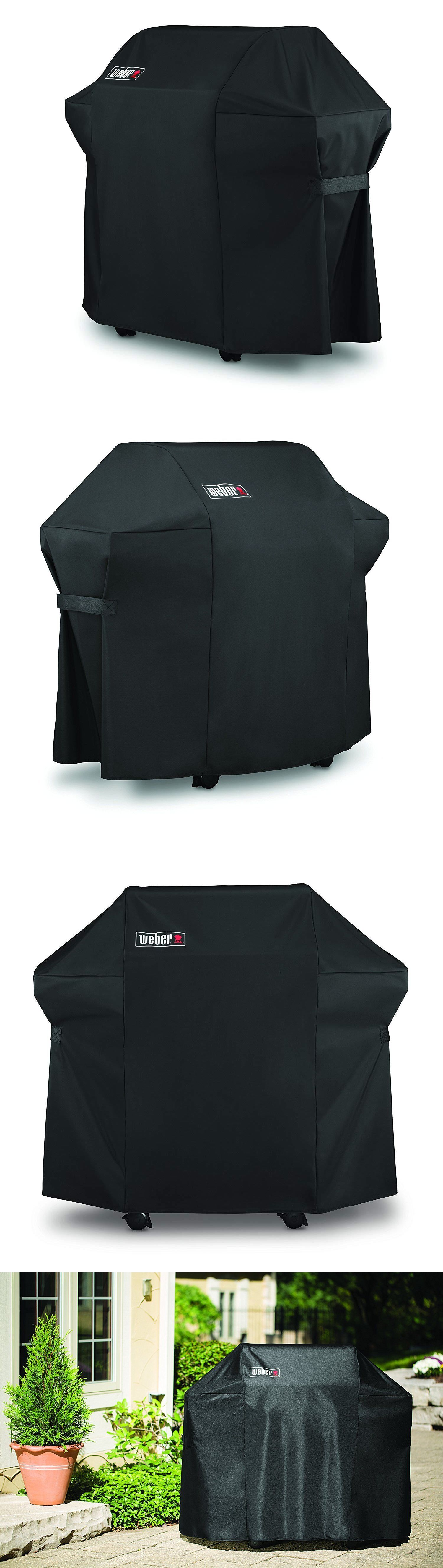 Barbecue And Grill Covers 79686 Weber 7106 Grill Cover Black Storage Bag For Spirit 220 And 300 Series Gas Grill Buy It Now On With Images Bag Storage Grill Cover Bags