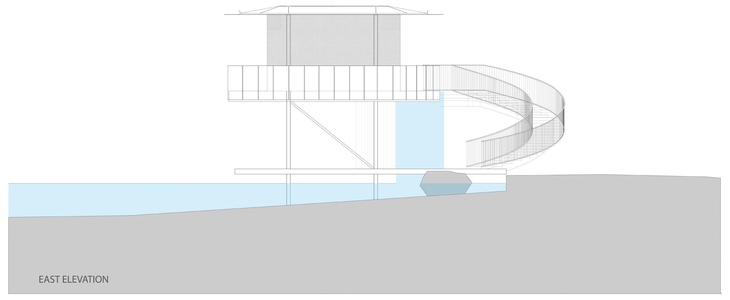 Shore Vista Boat Dock By Bercy Chen Studio Boat Dock - Awesome floating house shore vista boat dock by bercy chen studio