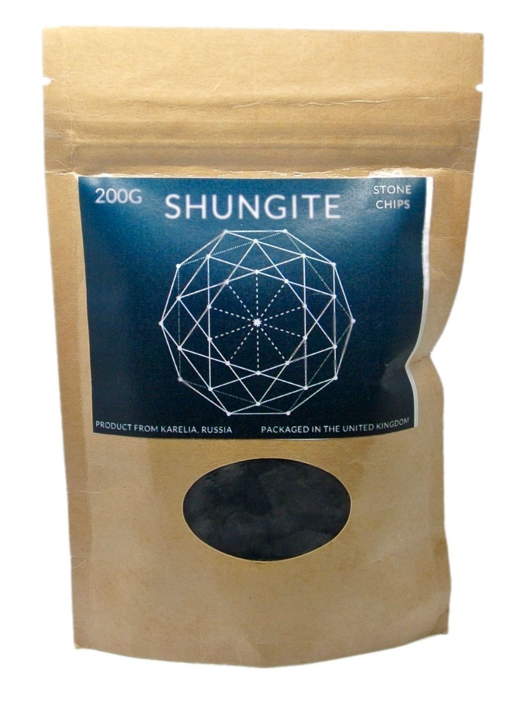 Shungite Natural Filter Water Healing 200g (shungit