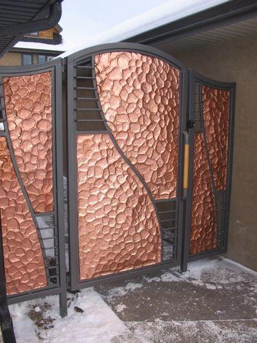 Copper Gate | Copper Comfort II in 2019 | Gate, Fence gate ...