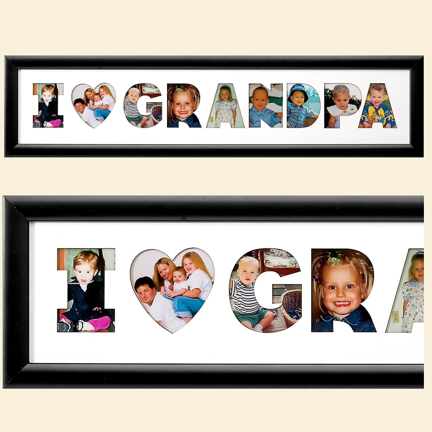 I Heart Name Frame Collage - Horizontal | Products | Pinterest ...