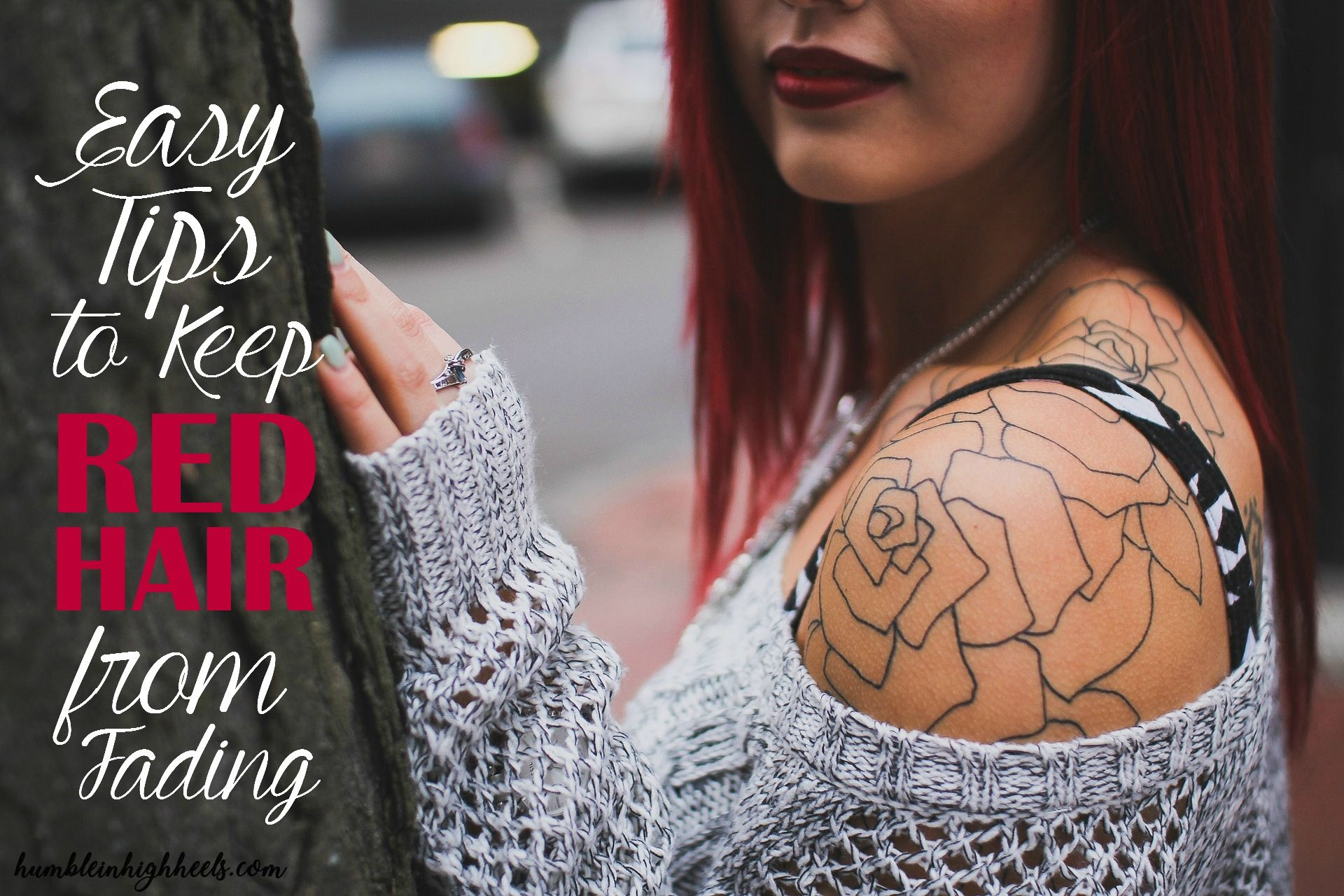 Easy Tips To Keep Red Hair From Fading Tattoo removal