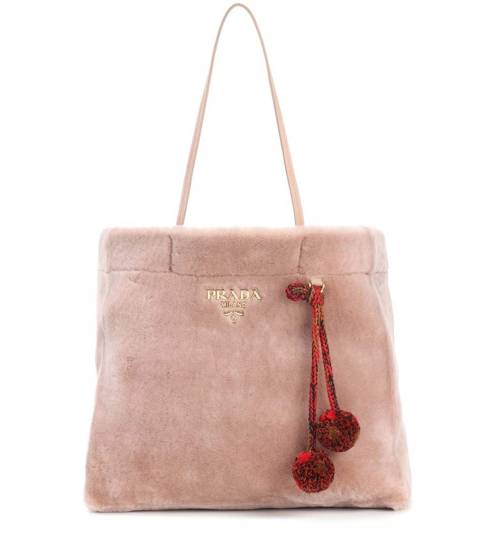 Prada Fur shopper   Bags   Pinterest   Fur, Bag and Small bags 45074a81f8