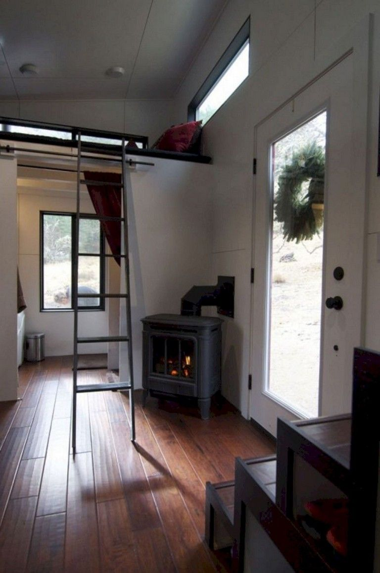 Awesome modern tiny house interior design ideas diy home also rh pinterest