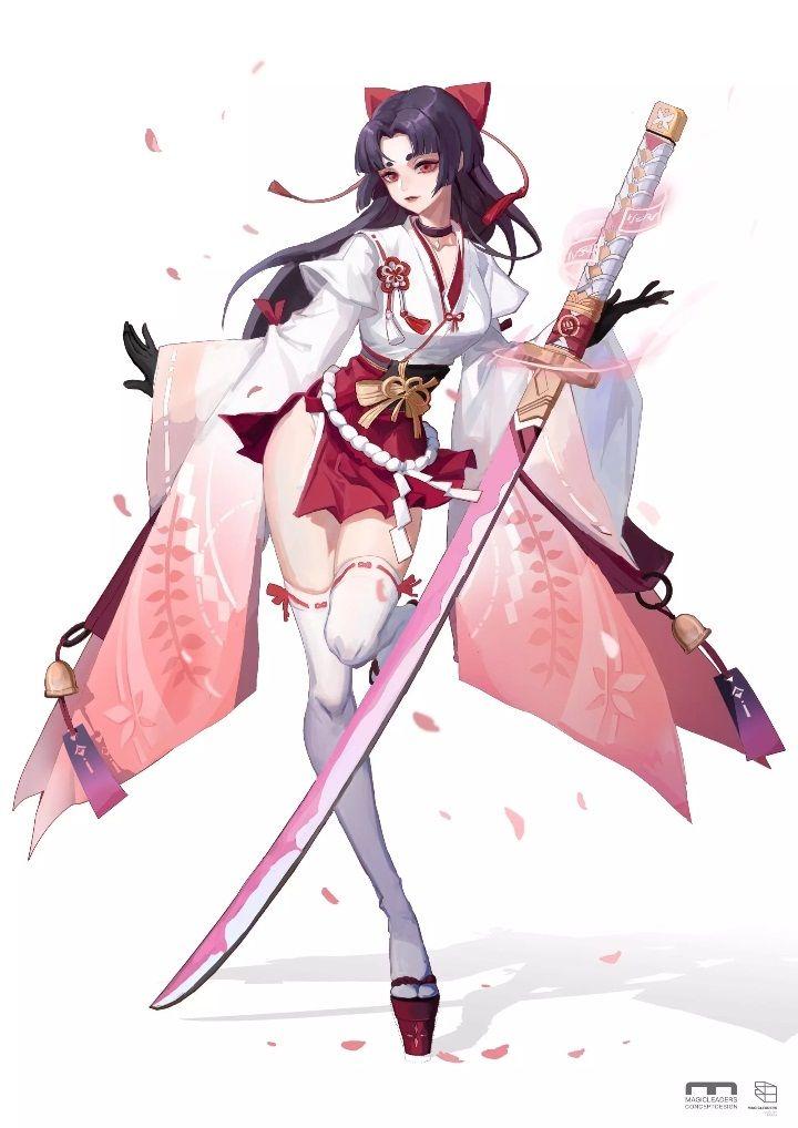 Pin By Nabila Taufiqoh On 1阴阳师 Onmyoji Anime Character Design Anime Kimono Anime Ninja