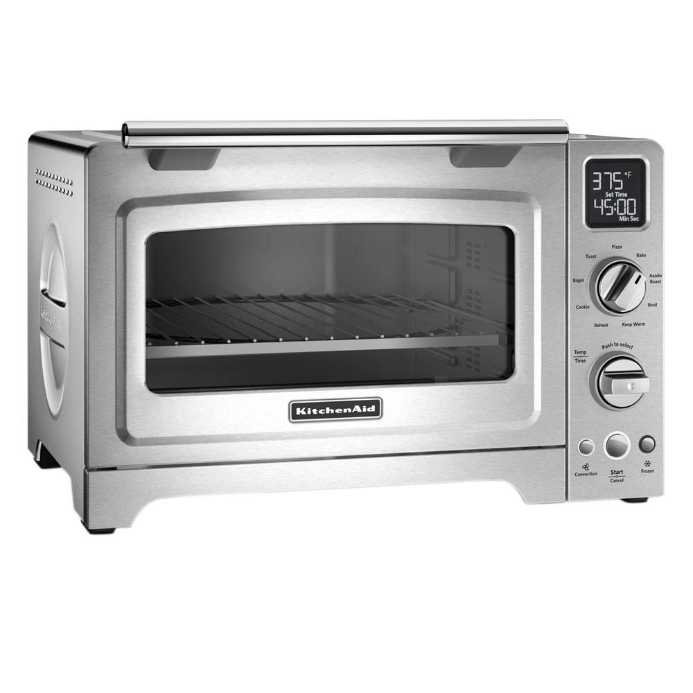 Kitchenaid 2000 w 4slice stainless steel convection