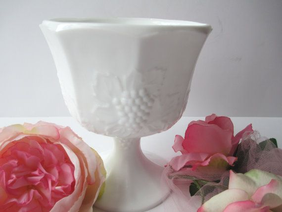 Vintage Harvest Milk Glass by Colony Classic by mymilkglassshop
