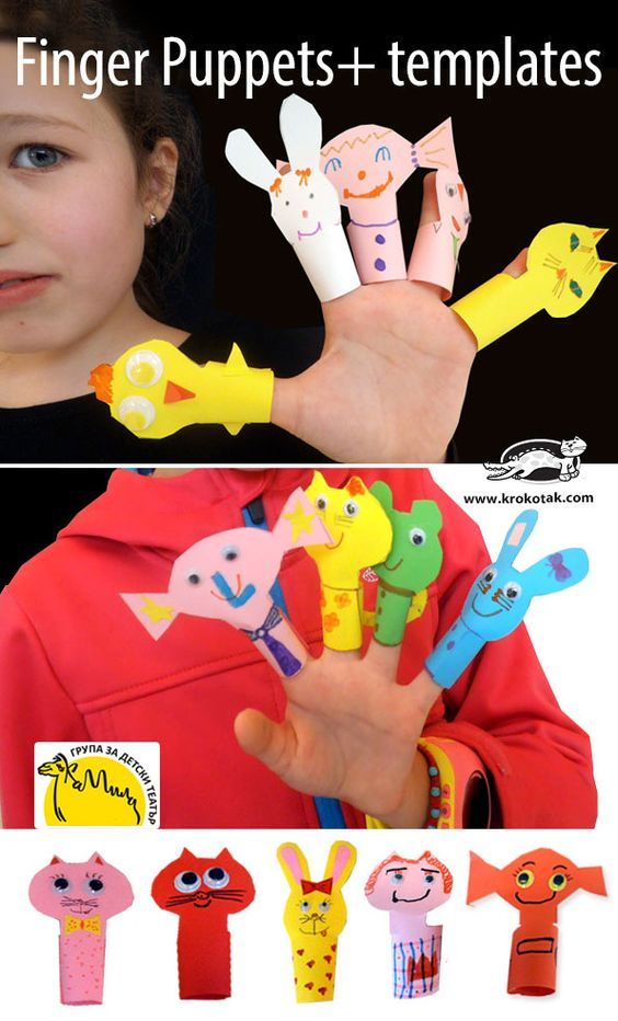 Finger Puppets+ templates