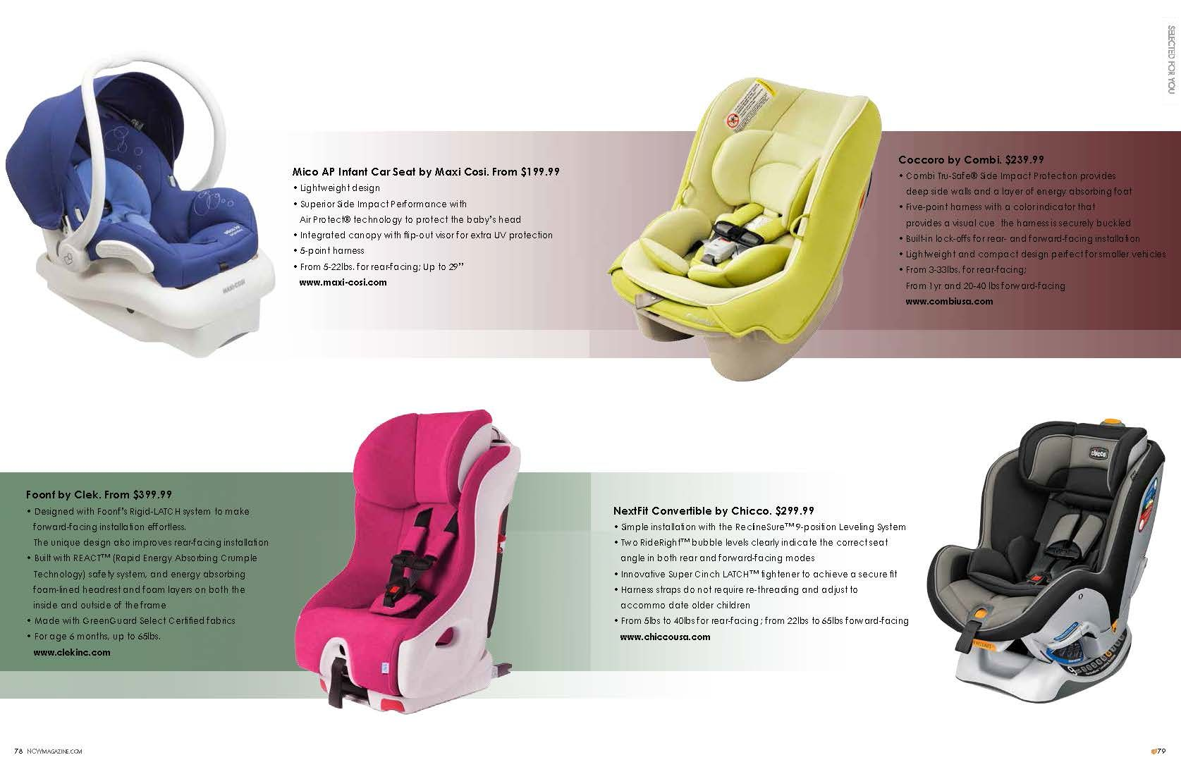We Re Proud To Share That The Coccoro Was Featured In Natural Child World S Special Design Edition This Month Http Comb Car Seats Baby Car Seats Nature Kids