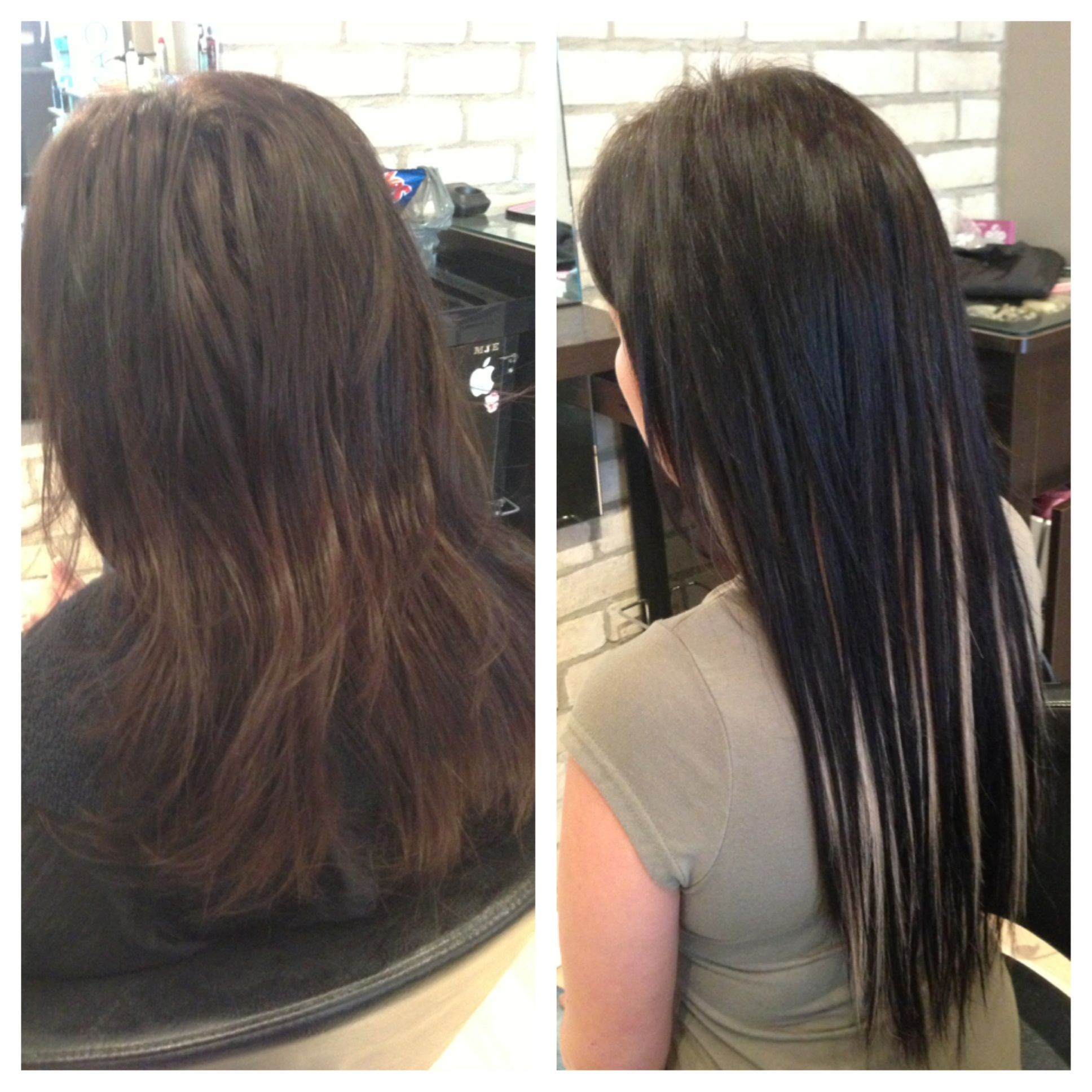 Before after fusion extensions mjs hair portfolio pinterest before after fusion extensions pmusecretfo Image collections