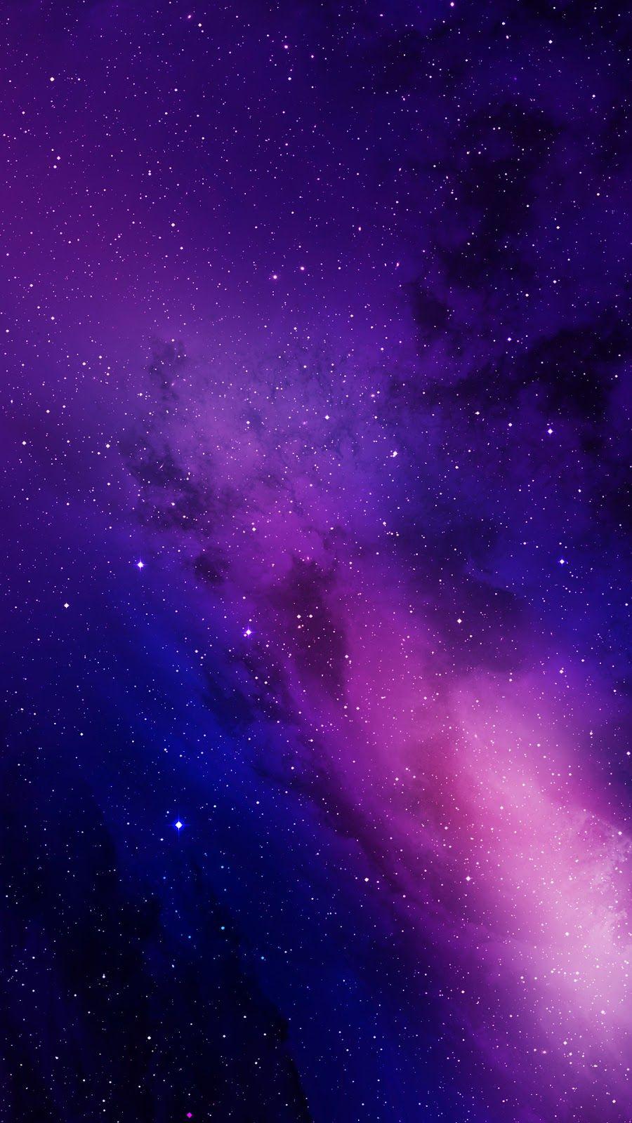 Colorful Galaxy Purple Galaxy Wallpaper Galaxies Wallpaper Galaxy Phone Wallpaper