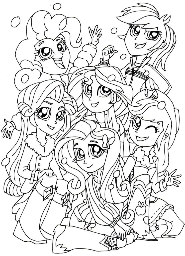 Equestria Girls Coloring Pages - Best Coloring Pages For Kids My Little  Pony Coloring, Coloring Pages For Girls, Coloring Pages