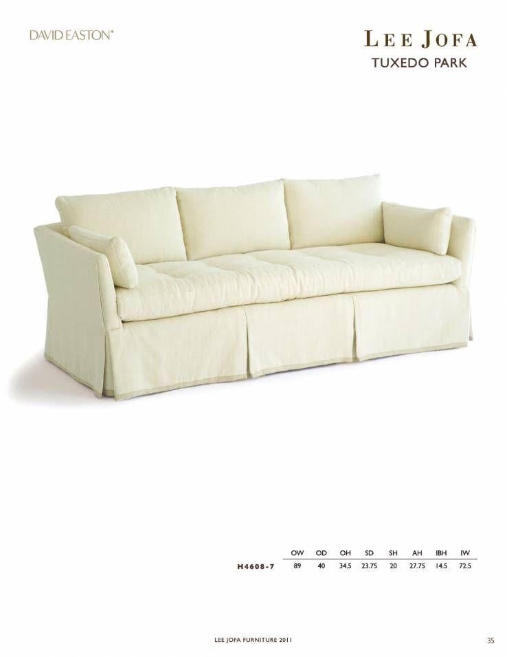 Lee Jofa Tuxedo Park Sofa