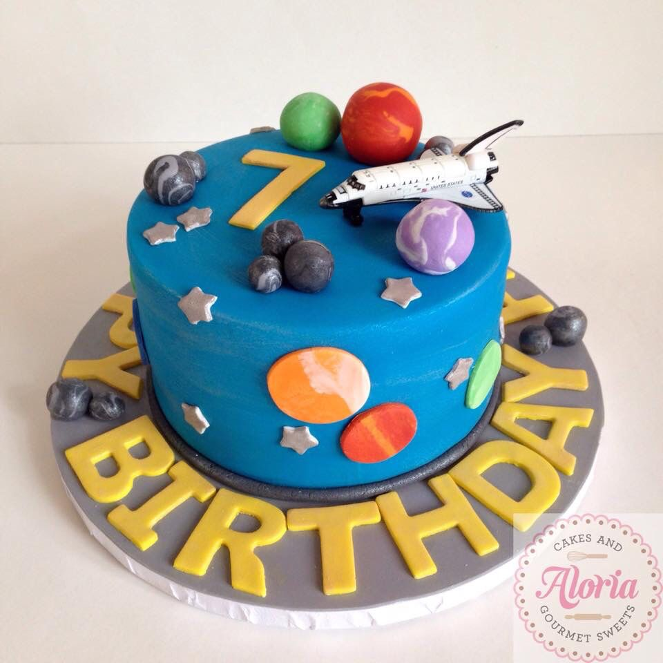 Outstanding Out Of This World Space Shuttle Birthday Cake With Images Cake Personalised Birthday Cards Vishlily Jamesorg