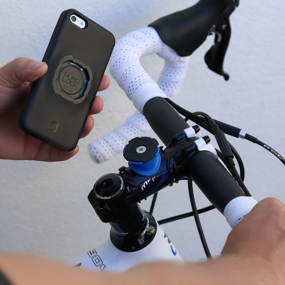 Fancy Quad Lock Iphone Bike Mount Kit