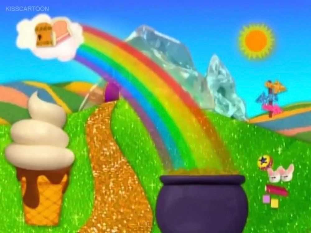 The Rainbow In The Land Of Great Discovery Blues Clues