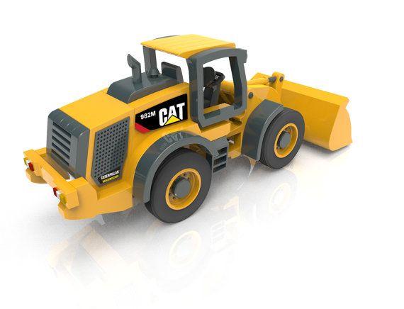 Cat 982m Wheel Loader Juguetes Madera Pinterest