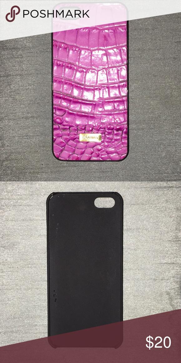 size 40 ca9bd 745b0 Brahmin Pink IPhone 4 case Good condition Brahmin Accessories Phone ...