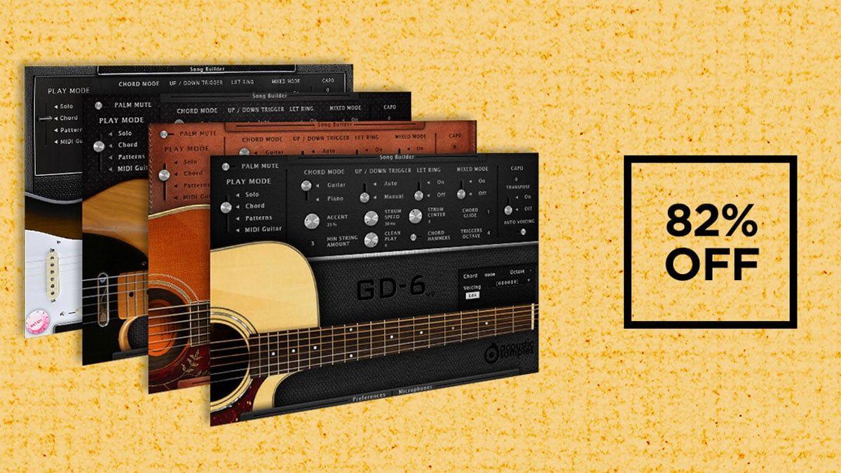 Vstbuzz Announces 82 Off The Acoustic Samples Guitar Bundle Vst Au Acoustic Guitar Classic Guitar