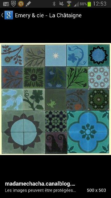 Carreaux ciment agn s emery floors sols pinterest house - Emery carreaux ciment ...