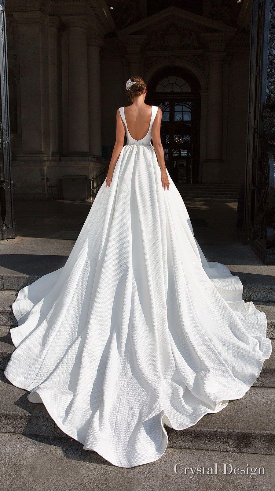 "Crystal Design 2018 Wedding Dresses — ""Royal Garden"