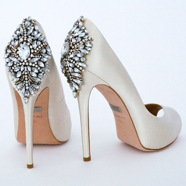 b1ea1e3bd40 Badgley Mischka Kiara Wedding Shoes