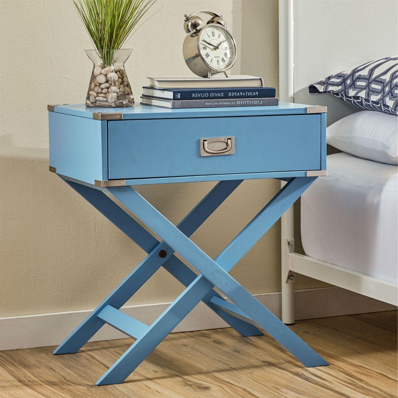 Best Modern 1 Drawer Bedroom Nightstand Bedside End Table 400 x 300