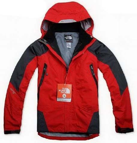 Mens The North Face Triclimate 3 In 1 Jacket Red Dark Gray