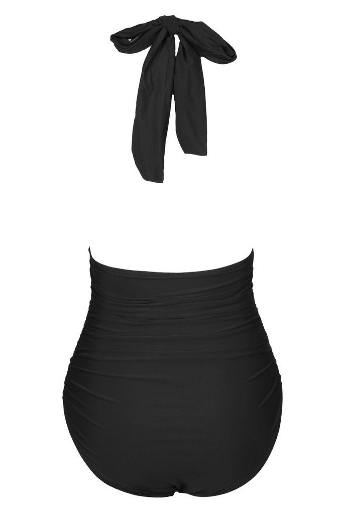 b781f897e709 Cupshe Keep Secrets Halter One-piece Swimsuit | Items to buy