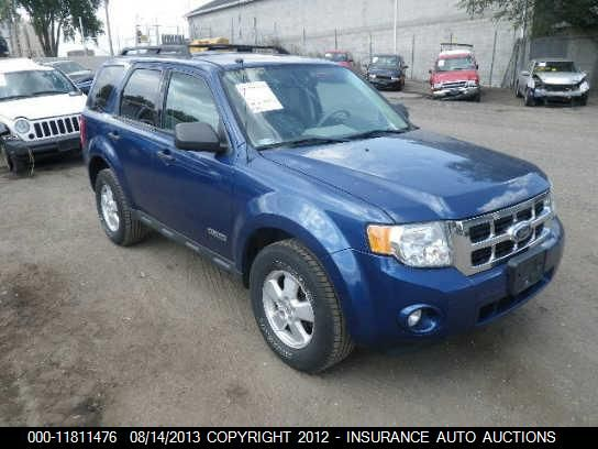 2008 Ford Escape Perdida Other Primario Hail Ford Escape Suv