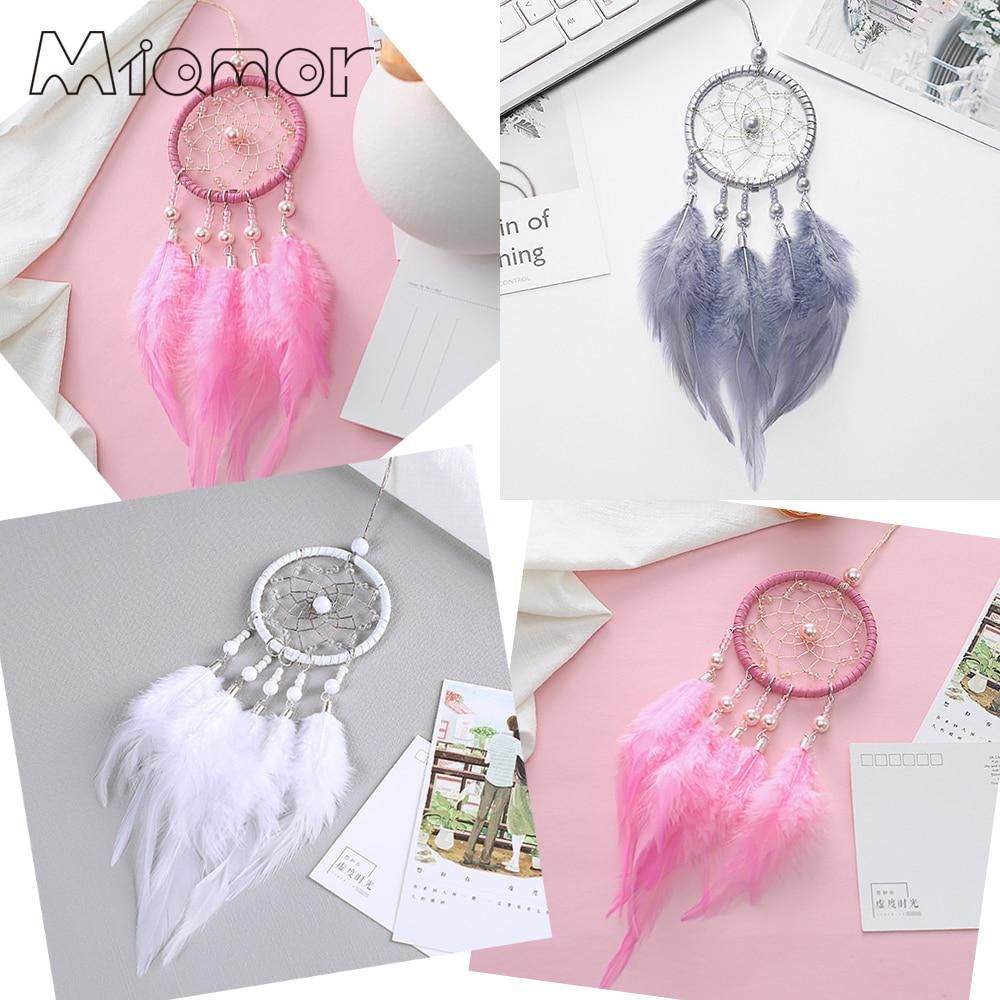 MIAMOR Small Pink & White Dreamcatcher & Wind Chimes Car Pendant & Home Decor & Wall Hanging Dream Catcher Regalo Gift Amor00666. Yesterday's price: US $3.99 (3.54 EUR). Today's price (December 25, 2018): US $2.79 (2.49 EUR). Discount: 30%. #Home #Decor #gift #catcher