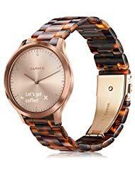 Armband für Garmin Vivoactive 3 / Vivomove HR/Vivoactive 3 Music/Forerunner 245/645 Music Smartwatch...
