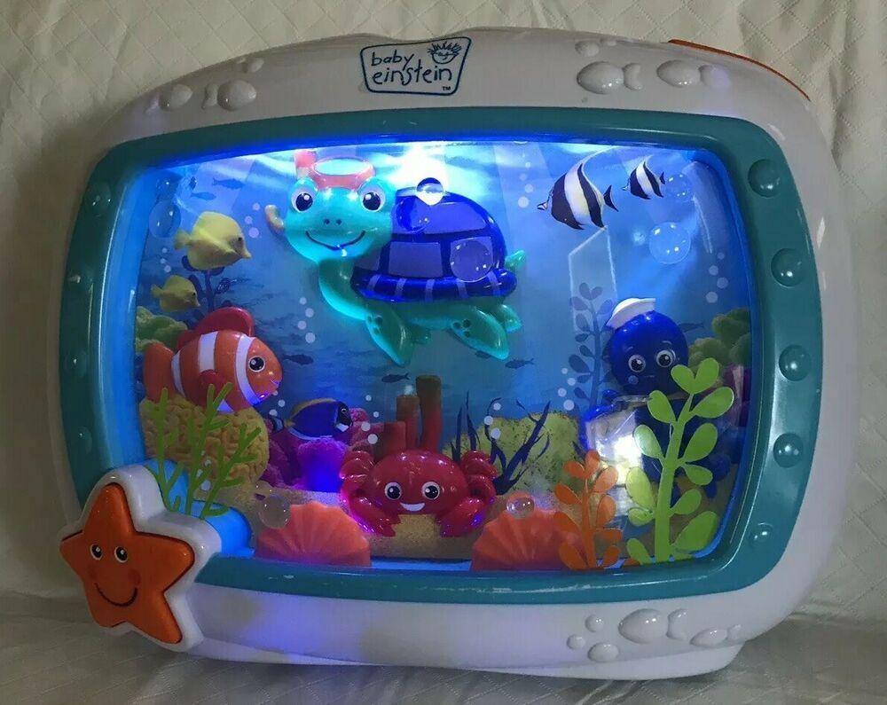Disney/'s Baby Einstein Sea Dreams Motion /& Light Crib Soother 4 Modes /& STRAPS