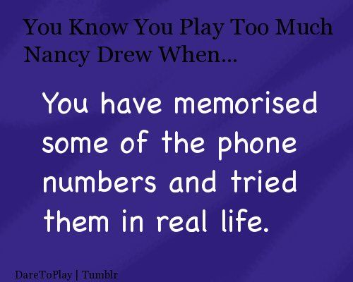 How many Nancy drew games are there? - Answers
