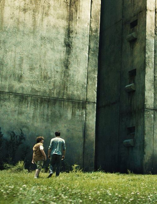 "The Maze Runner Movie ""Thomas &Chuck"""