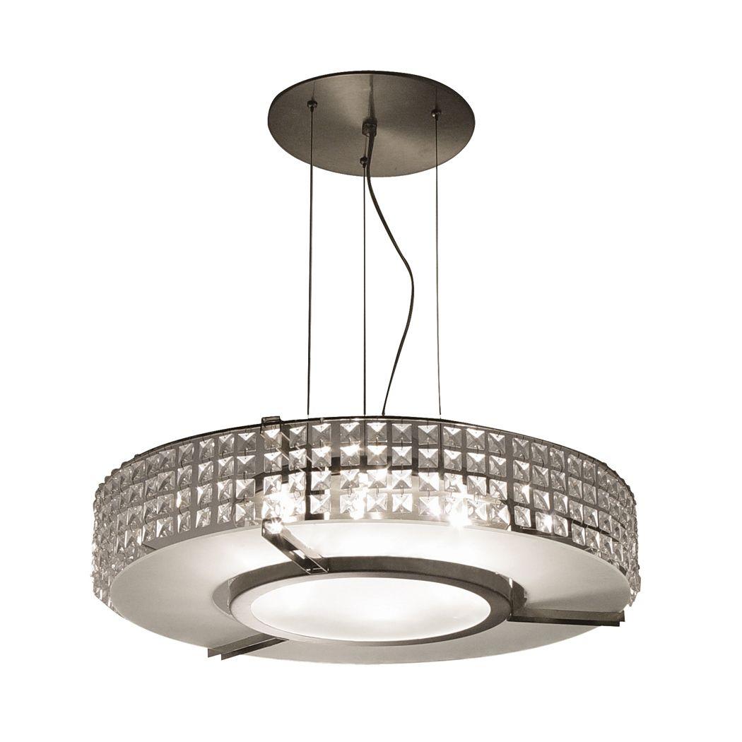 bazz lighting lu4019cc glam round large pendant | rounding