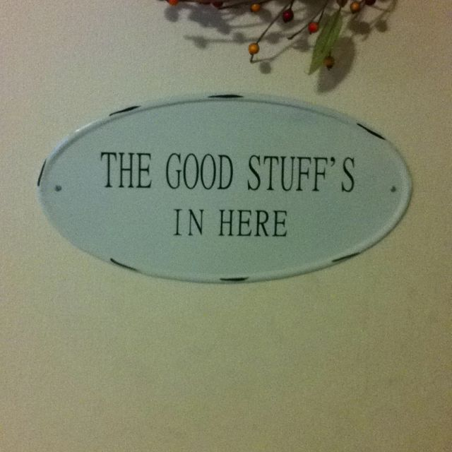Cute Sign For Above The Pantry Door