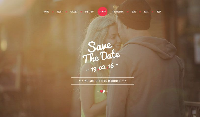 Free And Premium Responsive Html5 Wedding Website Templates For Page Will Be A Nice Basis Your Events Gallery Agency