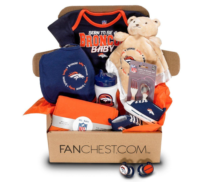 ed605a42288ff Denver Broncos Baby FANCHEST - Baby - 3 Months | Denver Broncos Gift ...