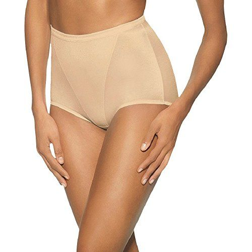 6bdb49efd559a Hanes Womens Moderate Control with Tummy Panel Brief 3XLight Beige    Want  additional info