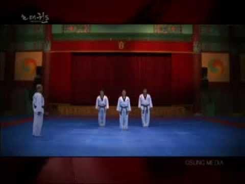 Taeguk Ee Jang - 2º Forma (Grand Master Kyu Hyung Lee) - YouTube