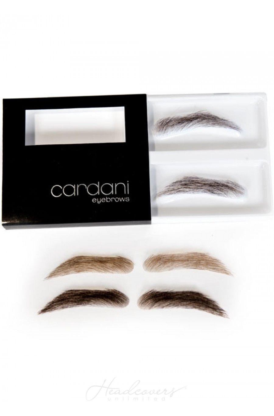 Cardani Fake Eyebrows for Men | Human Hair Stick On ...