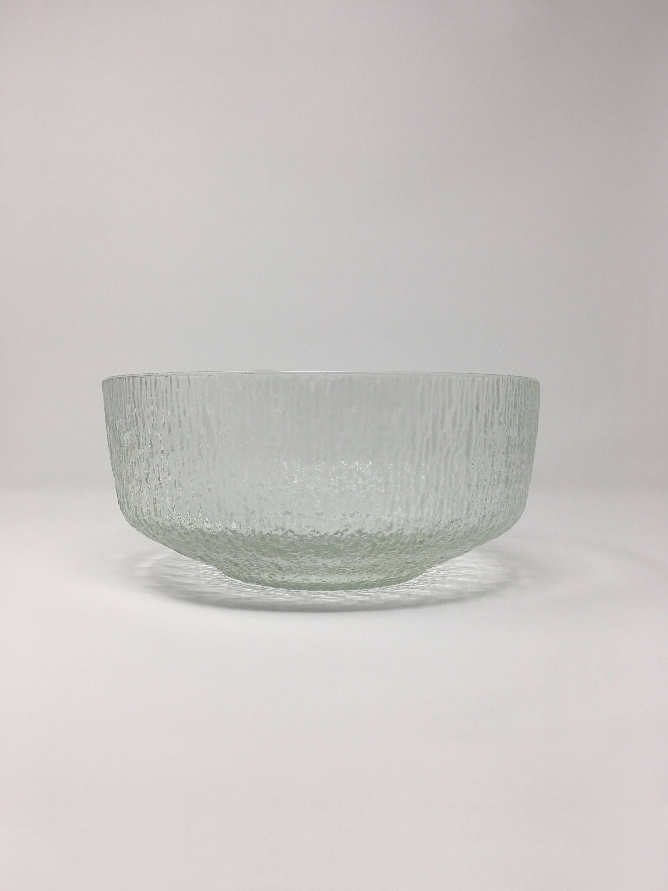 Decorative Glass Bowls Indiana Glass Crystal Ice Glass Serving Bowl Large Glass Bowl