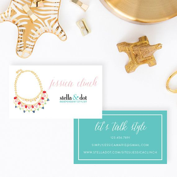 Stella dot personalized business cards by simplyjessicamarie stella dot personalized business cards by simplyjessicamarie colourmoves