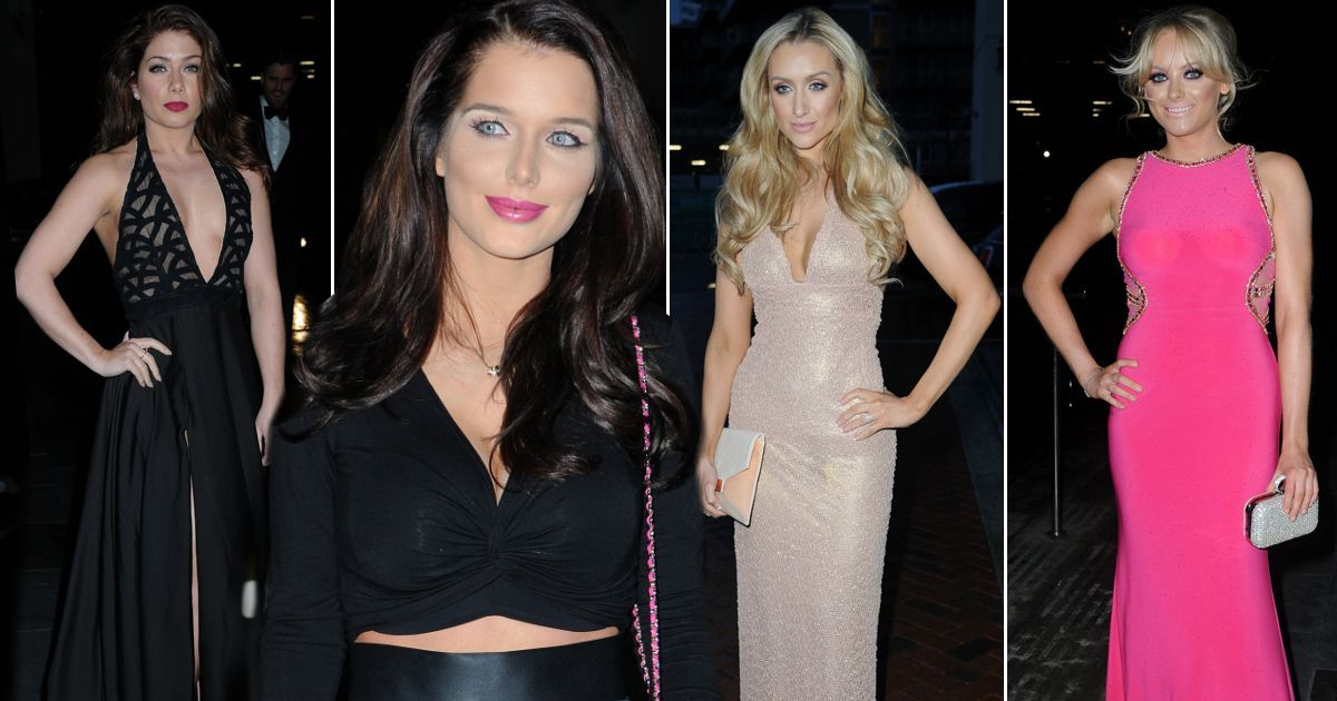 The stars of Coronation Street and Hollyoaks joined forces for the glittering Annual Mirror Ball tonight.