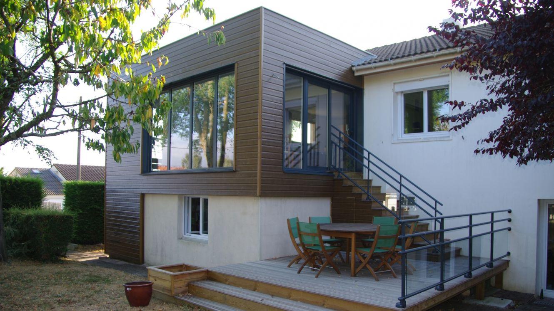 extension et terrasse architecte sur nantes - Faire Un Agrandissement De Maison