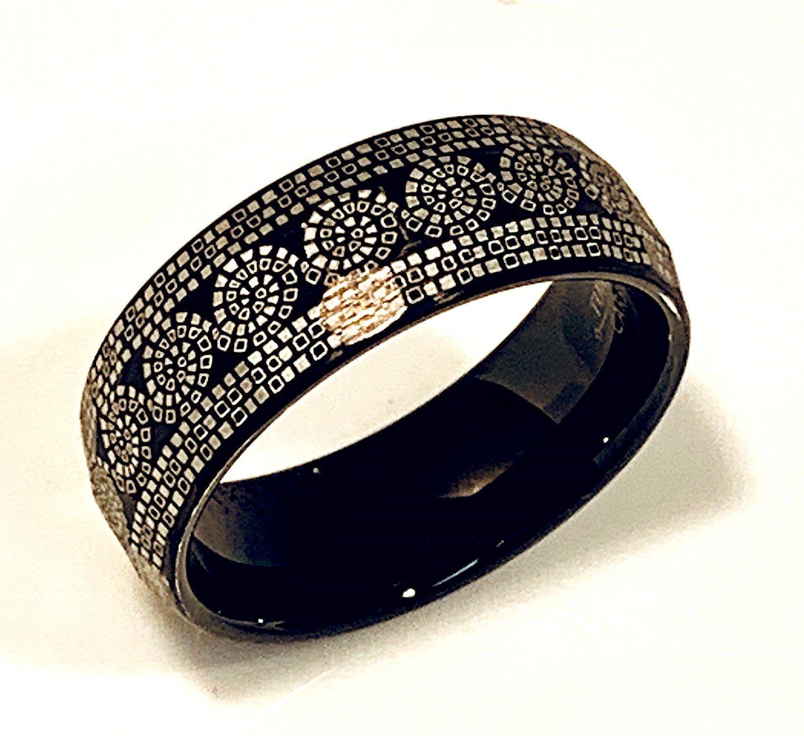 Tungsten Ring, Black Tungsten Band, Mens Tungsten Ring