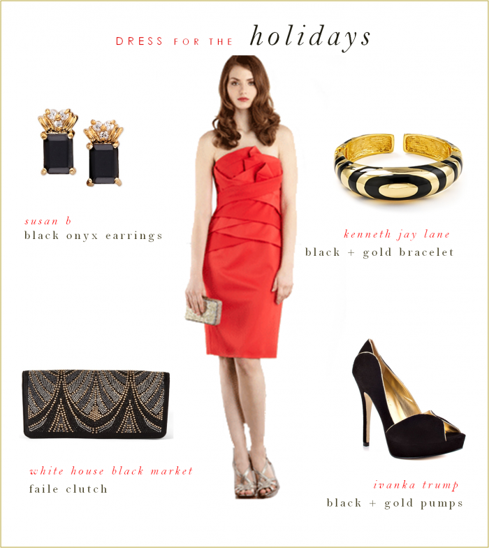 Accessories For A Red Dress Google Search